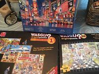 Washij? No 1 & 20, Times Square jigsaw puzzles bundle job lot