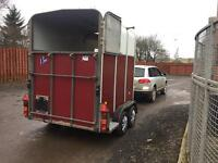 Choice of two Ifor Williams horse trailers