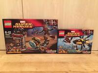 Lego Guardians of the Galaxy Knowhere Escape Mission and Starblaster Showdown sets