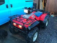 Honda TRX 350 4x4 farm quad road registered