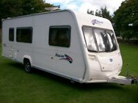 bailey pageant champange 4 berth 2008 full awning excellent condition
