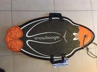 Snow boogie board