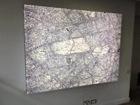 Map light box sign London