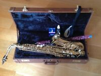 Alto saxophone - plus everything you need to play