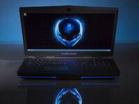 "NEW Dell Alienware 15 Alien i7 HD Gaming Laptop 16GB RAM 1000GB 256GB SSD 15.6"" GTX 970 GFX Win 10"