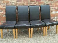 Dinning room chairs x 4
