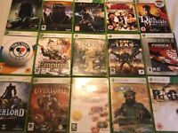 Lot of 15 Xbox 360 Games