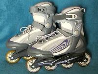 Bladerunner Pro 80 Inline Skates / Rollerblades - size 8