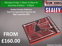 Sealey Premier Platinum Tool Tray Specialised Spanner Set 44pc Superline PRO