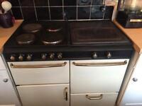 Electric range cooker -needs work
