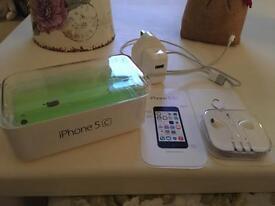 I phone 5c green EE