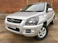 2008 KIA / SPORTAGE / DIESEL / 4X4 /STUNNING CONDITION / 6 SERVICE STAMPS / MAY MOT .