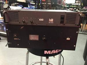 JBL Model 6021 Professional Series Amplifier / Vintage HILL DX 1500 Power Amplifier 500 Watts per Channel