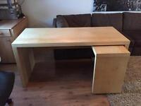 Ikea malm desk