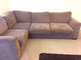 Right hand corner sofa for sale