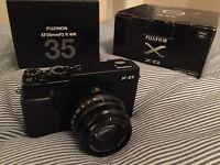 Fujifilm X-E2 + XF35 f2 Fujinon lens