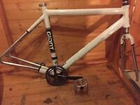Giant bike frame with extras