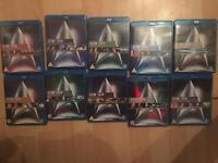 Star Trek movies 1-9 Blu Ray