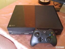Xbox One 500GB with 1 controller+Halo Master Chief Collection, Halo 5, Reach and Deus Ex series