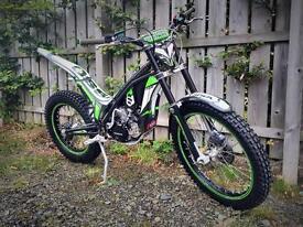 2012 Ossa 280i trials bike