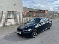BMW 335i M sport 2dr Coupe, Black, Manual
