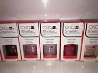 CND shellacs lots of colours to choose from