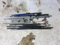 Course fishing bank sticks
