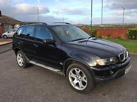 2003 BMW X5 D SPORT AUTO IN BLACK