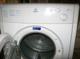 INDESIT VENTED TUMBLE DRYER.FREE DELIVERY LOCAL TO NEW MILTON