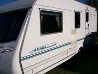 coachman amara 4 berth 2004 with full end shower room full awning alloy ex condition