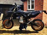HONDA CRF450R SUPERMOTO BIG SPEC