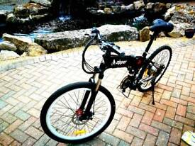 21 speed full suspension Electric Bike