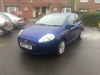 MUST SEE L@@K 2007(57) FIAT GRANDE PUNTO ADYNAMIQUE M-JET 16v 1.3 TURBO DIESEL FULL MOT JANUARY
