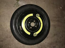 Genuine VW space saver wheel