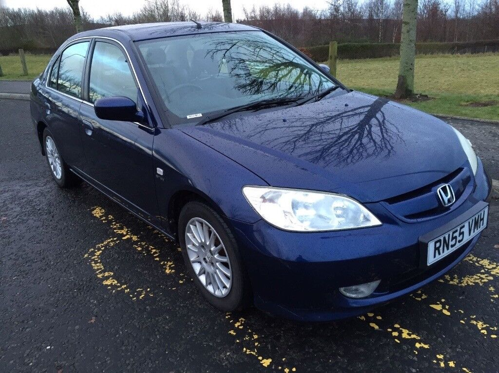 Honda Civic IMA 1.3 Electric/Hybrid ***£20 ROAD TAX*** GREAT FAMILY CAR  SALOON