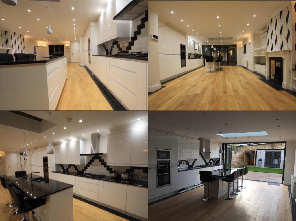 Stunning Barnes 4 Bedroom House, Newly Built, Interior Design, 4 Bathrooms  U0026 Garden Studio