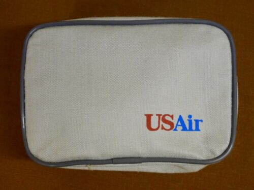 USAir, US Airways small toiletries/ sleep bag, unused with contents in plastic