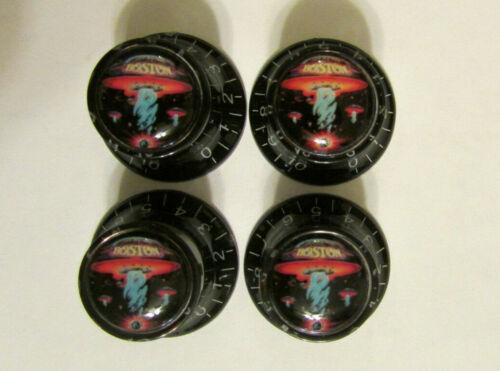 Boston Guitar Knobs,  Boston Logo Guitar Knobs ,  Boston Guitar Knobs