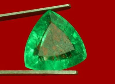 13x12.7mm (9.30cts) TRILLIANT-FACET CERTIFIED NATURAL (GGL) COLOMBIAN EMERALD