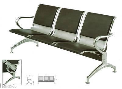 Yanaki #YA3602 Airport Reception Bench 3 - SEAT,ALL METAL