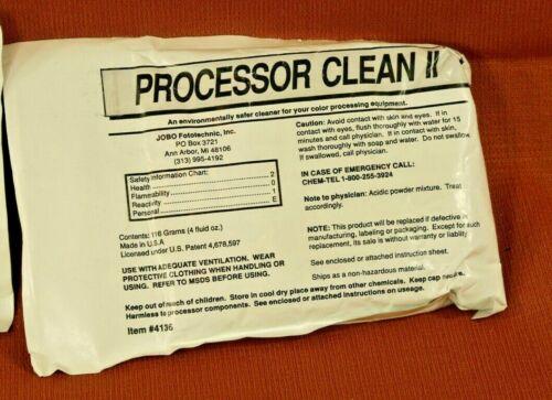JOBO PROCESSOR CLEAN II - One Packet (NOS)