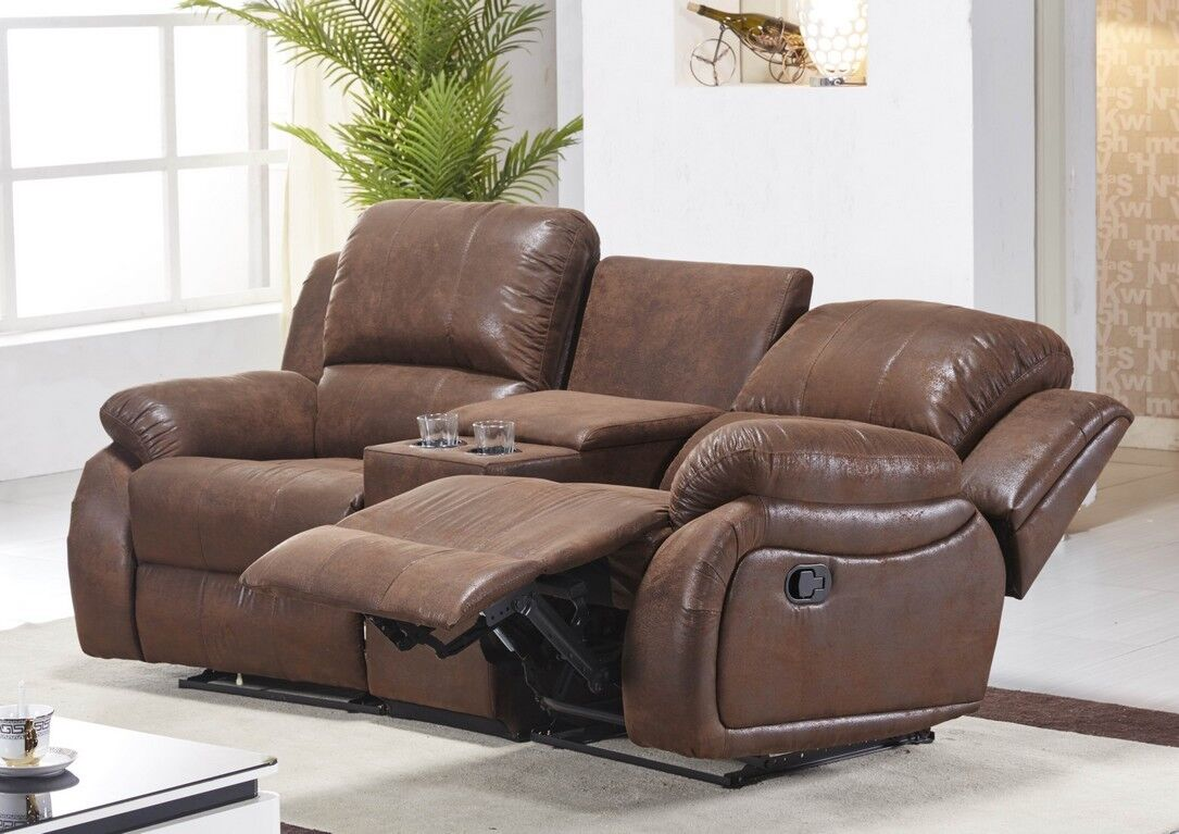 mikrofaser sofa kinosofa relaxcouch fernsehsofa heimkino 5129 cup 2 24 eur 899 00 picclick de. Black Bedroom Furniture Sets. Home Design Ideas