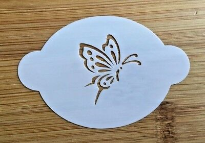 Face painting stencil reusable washable butterfly Mylar 2.5 in x 1.75](Face Paint Butterfly)