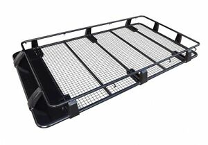 LANDCRUISER 100 SERIES FULL LENGTH STEEL ROOF RACK OX 4X4 ACCESSORIES