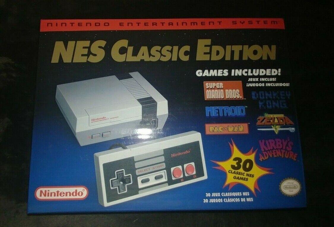 classic edition nes mini game console brand