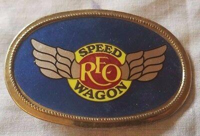 REO SPEEDWAGON - VINTAGE 70'S BELT BUCKLE