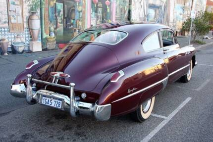 1949 BUICK SUPER SEDANETTE - standout luxury fastback
