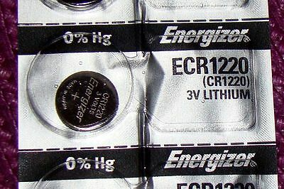 1 Piece Energizer CR1220 3 Volt Lithium Battery          Factory FRESH!
