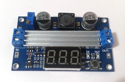 Dc-dc 100w 3-35v 12v To 3.5-35v Boost Step-up Module Power Supply Led Voltmeter