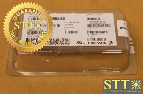 Rdh10265/3 Ericsson Sfp+ Sm 9.8 Gbs Crtuaeplaa New